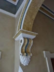 Decorative Painting to Arch