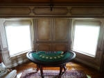 An Aged Bronze Paint Finish to a Private Gambling Room