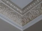 Decorative Painting in Neutral Tones to the Cornice