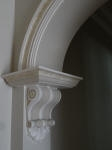 Decorative Paint Effects & Shading on Archway Moulding