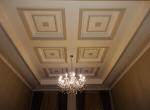 Painting to Coffered Ceiling