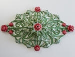 Decorative Painting to Ceiling Rose