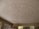 Five Colour French Wash, Hand Painted Ceiling Pattern