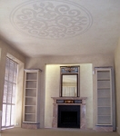Five Colour French Wash to Ceiling & Walls, Painted Ceiling Pattern