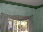 Aged Cornice & Four Colour Wash to Walls