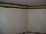 Aged Cornice & Two Colour Finish