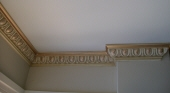 Antique Painted Cornice