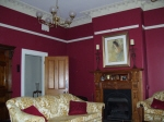 Deep Claret Walls add richness to a period home