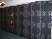 Wall-papering of office walls