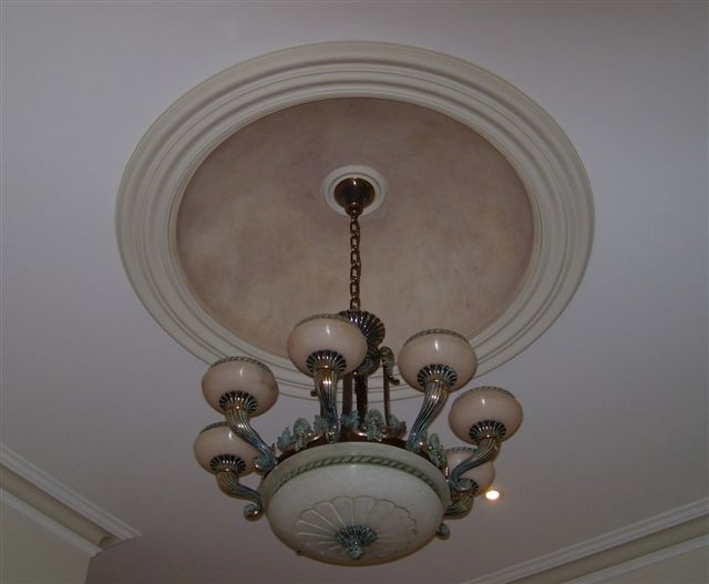 ceiling domes with lighting. Decorative Finish Inside Dome, With Copper Dusting Ceiling Domes Lighting